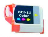 Billede af 2 stk! Canon BCI 11 farve blækpatron 6,6ml kompatibel 0958A002