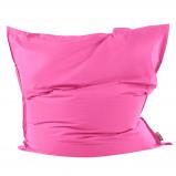 Afbeelding van Beliani Bean bag Extra Big Zitzak Roze Nylon