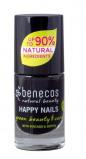Afbeelding van Benecos Vegan Nail Polish Licorice Nagellak Make up