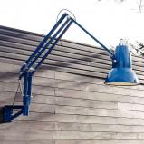 Afbeelding van Anglepoise anglepoise®original 1227 Giant IP65 wandlamp blauw, staal, aluminium, E27, 13 W, energie efficiëntie: A+