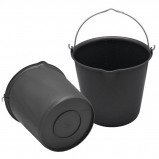 Obrázek Agradi Bucket with measurement scale + pouring spout Green