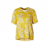 Afbeelding van alchemist blouse met all over print geel