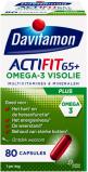 Afbeelding van Davitamon Actifit 65 plus omega 3 visolie 80 capsules