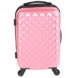 Afbeelding van Adventure Bags Edge Spinner 54cm Roze koffer
