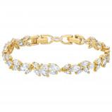 Afbeelding van Swarovski 5505863 Louison Bracelet goudkleur Armband Medium