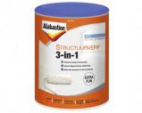 Afbeelding van Alabastine 5256780 Structuurverf 3 In 1 Wit 5L