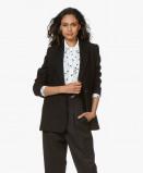 Image of Anine Bing Madeleine Blazer Wool Blend in Black