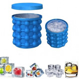 Obrázek 2 in 1 Silicone Ice Cube Maker Portable Bucket Wine Ice Cooler Beer Cabinet