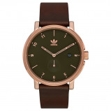 Afbeelding van Adidas District Rosegoudkleurig horloge Z12 3038 00