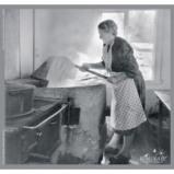"""Afbeelding van Adhome Reminiscentiepuzzel in hout 23 x 24 cm, """"Hooi oogsten"""" 12 stukken"""