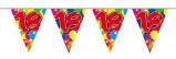 Afbeelding van Amigo Vlaggenlijn ballonnen: 18 jaar 10 meter