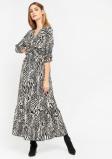Image de Longue robe imprimé zèbre LolaLiza Taille 36
