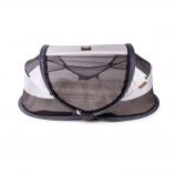 Afbeelding van Deryan Travel Cot Baby Luxe Campingbed Silver