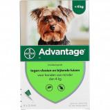 Afbeelding van Advantage 40 Spot On Hond <4kg 4 Pipetten