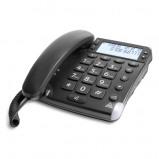 Afbeelding van Doro Magna 4000 zwart Dect telefoon