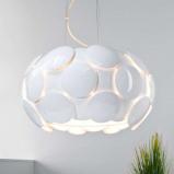 Afbeelding van Brilliant aantrekkelijk gevormde hanglamp Status, voor woon / eetkamer, metaal, kunststof, E27, 25 W, energie efficiëntie: A++