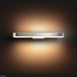 Afbeelding van philips Hue White Ambiance Adore badkamer wandlamp, voor badkamer, metaal, kunststof, 40 W, energie efficiëntie: A+, B: 59.5 cm, H: 6.4 cm