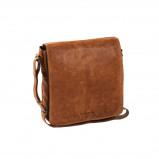 Imagem de Chesterfield Leather Shoulder Bag Cognac Almada