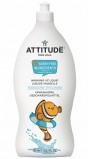 Afbeelding van Attitude Ecologisch Afwasmiddel Parfum Vrij Little Ones 700ML