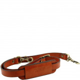 Imagine din Adjustable leather shoulder strap Honey