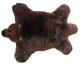 Image of Baby Dan Bear Lambskin 60x97 cm Brown Bear