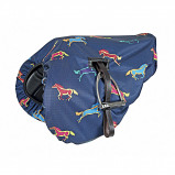 Obrázek Shires Saddle Cover Waterproof Ride On Horse Print