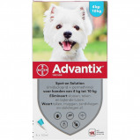 Afbeelding van Advantix 100/500 Spot On Hond 4 10kg 6 Pipetten