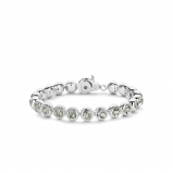 Image of TI SENTO Milano Bracelet Green Silver Plated 2861GG