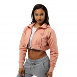 "Bilde av ""Better Bodies Woman Better Bodies Astoria Cropped Hood Peach Beige*"""