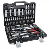 Abbildung von 108 teiliger Werkzeugkoffer mit Ratschenschlüssel Set
