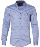 Afbeelding van Casa Moda Overhemd Modern Fit Blauw 5XL Grote Maten