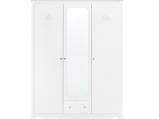 Afbeelding van Bopita 3 deurskast Diva wit