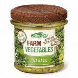 Afbeelding van Allos Farm vegetables doperwten & basilicum (135 gram)