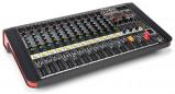 Afbeelding van Power Dynamics PDM M1204A 12 kanaals muziek mixer / versterker