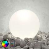 Afbeelding van 8 Seasons led buiten sfeerlamp Shining Globe 50 cm, polyethyleen, energie efficiëntie: A