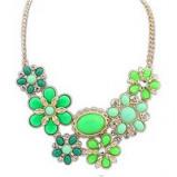Image of Swarovski Elements Spring Flower Necklace