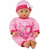 Afbeelding van Bayer babypop First Words roze 46 cm