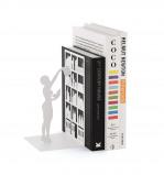 Afbeelding van Balvi boekensteun The Library Wit Metaal