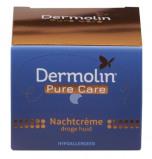 Afbeelding van Dermolin Pure Care Nachtcreme Droge Huid (50ml)