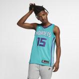 Image of Charlotte Hornets Jordan Icon Edition Swingman Men's NBA Shorts Blue
