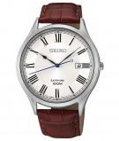 Afbeelding van Seiko SGEG97P1 Quartz horloge herenhorloge Zilverkleur