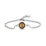 Image of TI SENTO Milano Bracelet Brown Silver Plated 2758TE