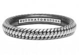 Afbeelding van Buddha to 925 Sterling Zilveren Refined Dunia Ring 322 16 (maat: 16)