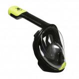 Afbeelding van Aqua Lung Sea Turtle Full Face Snorkelmasker Black Lime S M