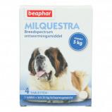 Abbildung von Beaphar Milquestra Wurmtabletten Hund 5 75kg 4St.