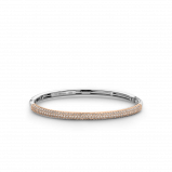 Image of TI SENTO Milano Bracelet Pink Silver Rose Gold Plated 2874ZR
