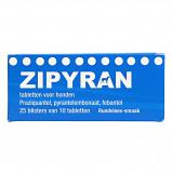 Abbildung von Zipyran Wurmtabletten für Hunde 25x10 Tabletten