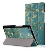 Afbeelding van 3 Vouw amandelboom stand flip hoes Lenovo Tab 4 8