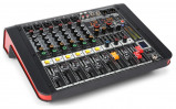 Afbeelding van Power Dynamics PDM M604A 6 kanaals muziek mixer / versterker