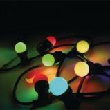 Afbeelding van Easyconnect gekleurde feestverlichting 5 meter g45 8 lampen e27 63045
